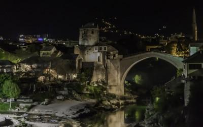 Eine Nacht in Mostar