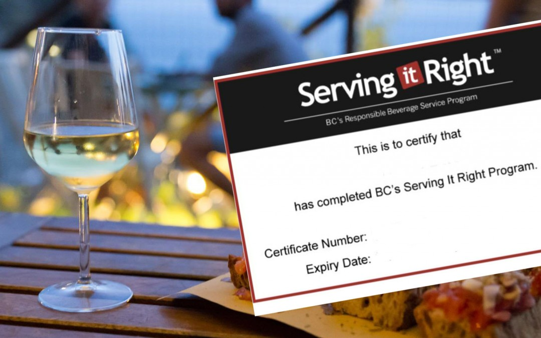 Work and Travel Kanada: So bekommst du dein Serving It Right Zertifikat