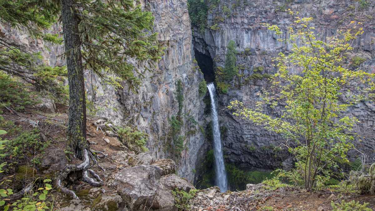 Spahats Creek Falls im Wells Gray Provincial Park