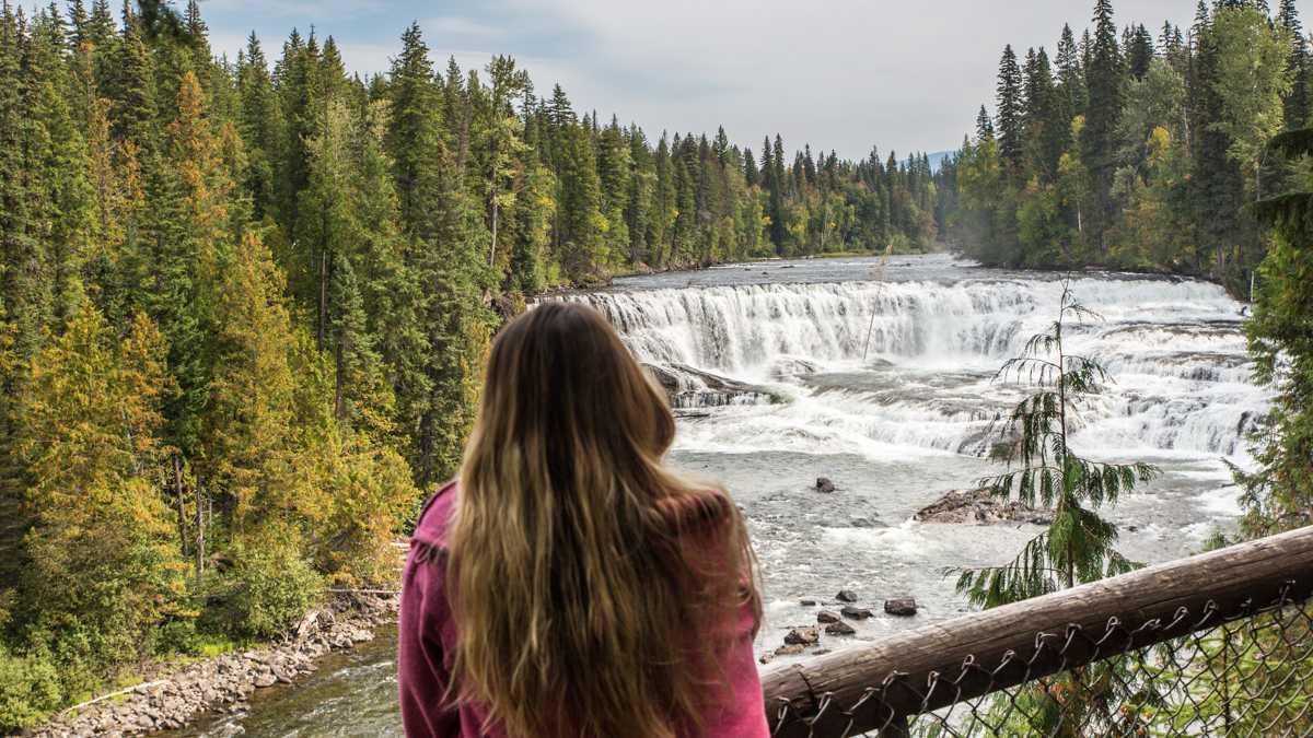 Dawson Falls im Wells Gray Provincial Park