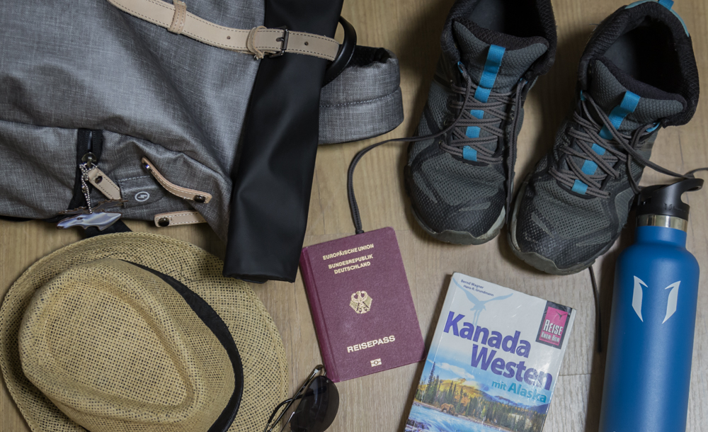 Work and Travel Kanada Packliste