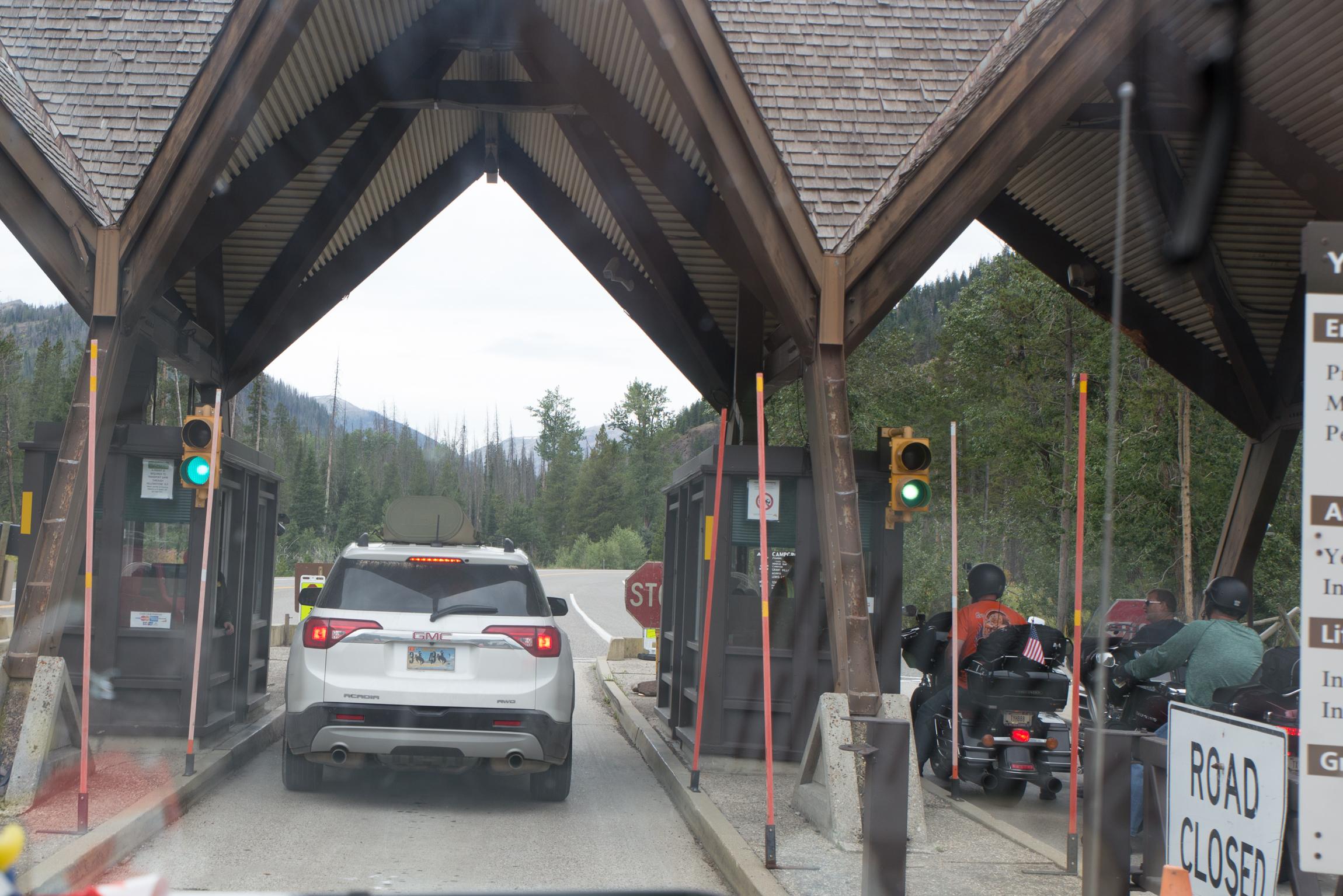 Eingang Yellowstone