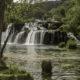 Der Wasserfall Skradinski Buk im Krka Nationalpark in Kroatien.